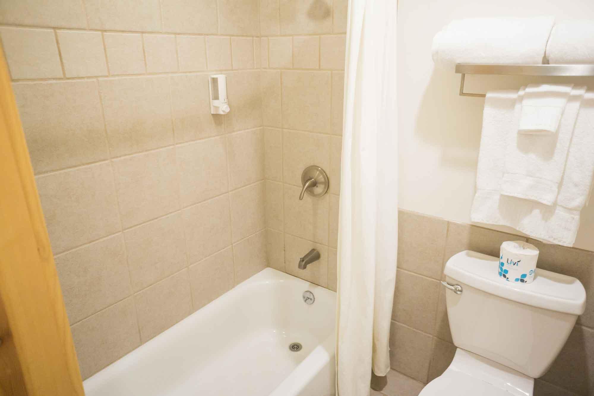 Moose Creek Lodge Suites Bathroom